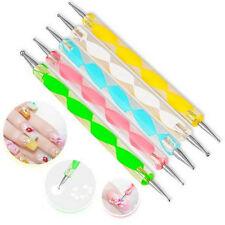 5PCS Nail Art Dotting Pens Dotting Manicure Tools Nail Art Painting 2Way