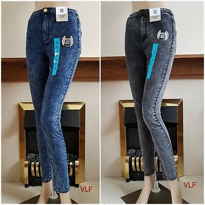 d94193fb6a4c Details about New Women Super High Waist Skinny Jeans from EX - Primark  Size:6/8/10/12