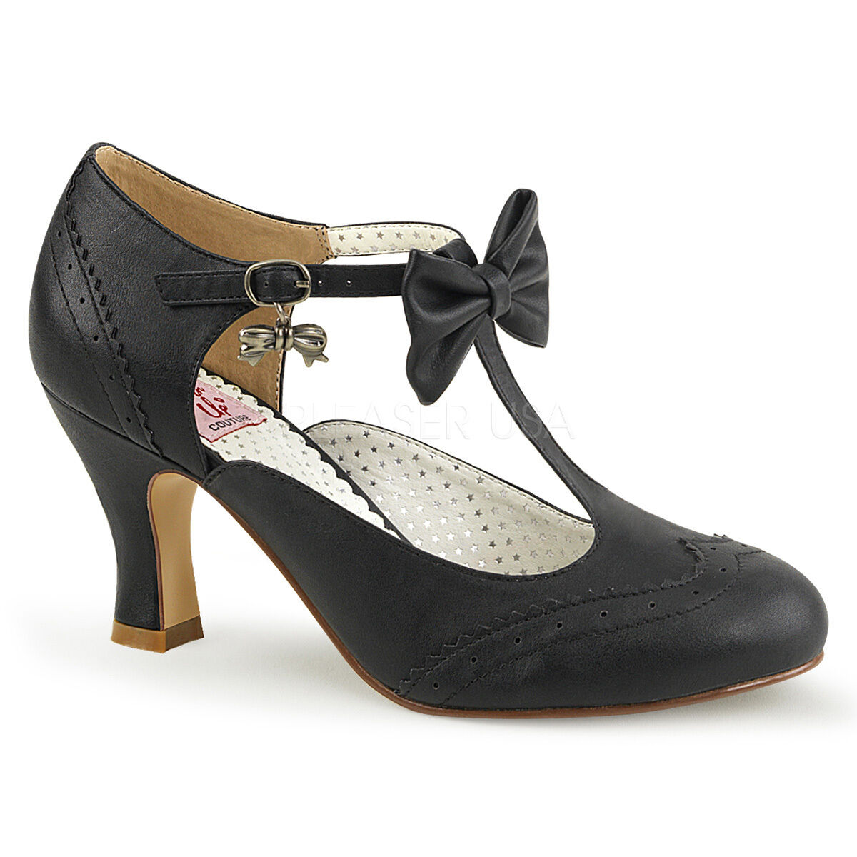 Pin Up Couture FLAPPER-11 Mary Jane Pump