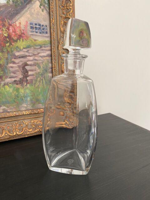 Vintage baccarat crystal decanter