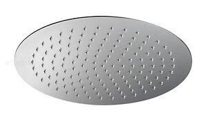 Das Bild Wird Geladen Ultra Flache  Edelstahl Kopfbrause Regen Duschkopf Brausekopf Durchmesser