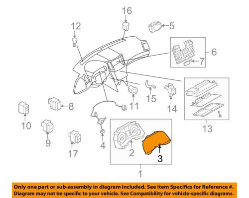 Infiniti NISSAN OEM 08-13 G37 Dash Gauge Speedometer-Cluster Lens 24813JK00A