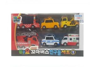 The Little Bus Tayo Friends Toy car BRAND NEW FACTORY SEALED FREE SHIP US Cito