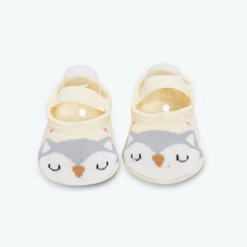 Cute Baby Girl Boy Anti-slip Socks Cartoon Newborn Slipper Shoes Boots 0-36M