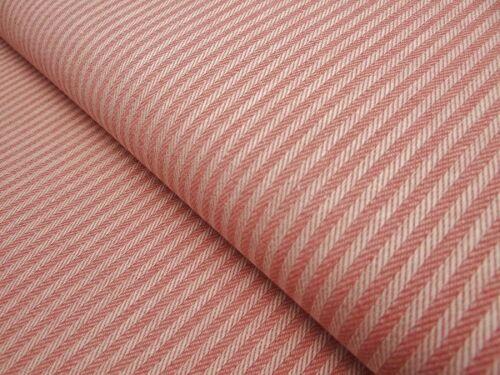 0,50 m Dekostoff Streifen Minimaldessin  75/%Baumwolle25/%Polyester Stoff