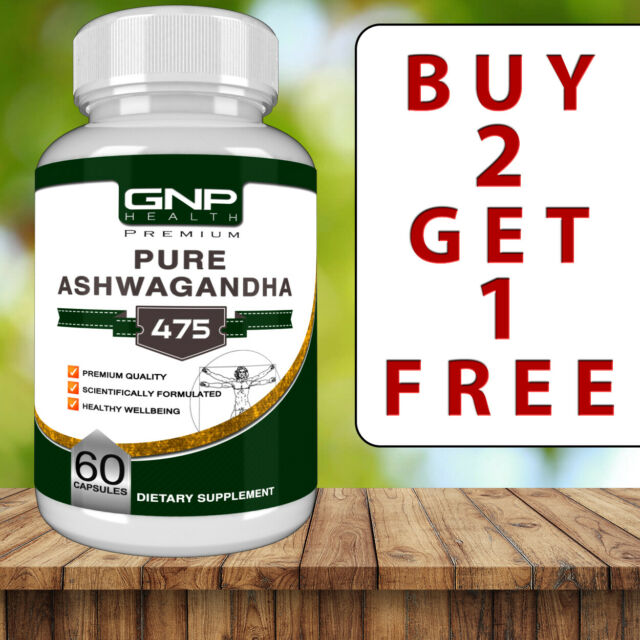 Ashwagandha - 60 Capsules - Anxiety - Stress Relief Support - Relaxation -Tablet