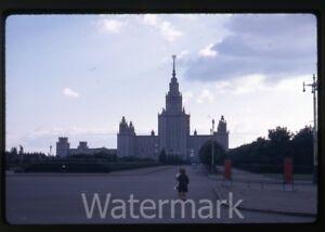 1969-kodachrome-photo-slide-Moscow-University-Russia-USSR