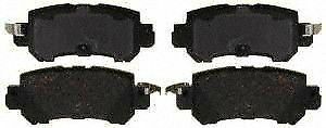 ACDelco 17D1624CH Rear Ceramic Brake Pads