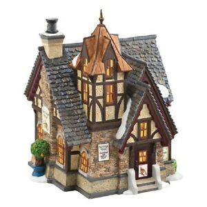 Dept-56-Dickens-039-Village-034-THE-PARTRIDGE-amp-PEAR-034-New-for-2012-MIB