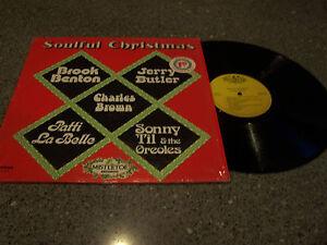 034-Soulful-Christmas-034-VARIOUS-ARTISTS-MISTLETOE-RECORDS-LP-Charles-Brown-Til-ETC