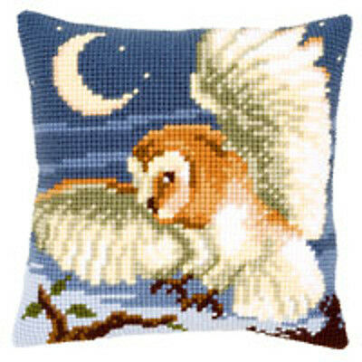 Vervaco Cross Stitch Cushion Kit : Owl