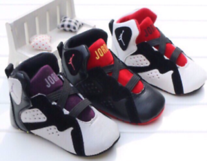 Details about Baby Girls Infant Boys Toddler Newborn soft Bottom Jordan sneakers crib shoes