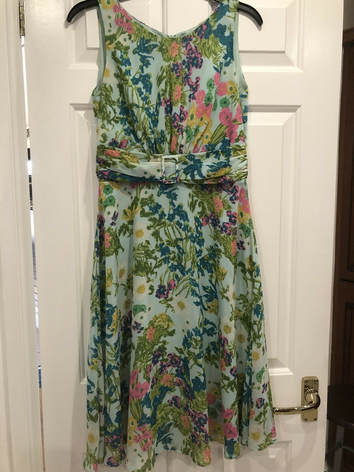 Wallis Stunning Floral dress size 12  weddings Etc