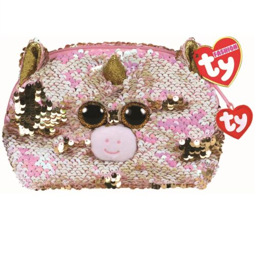 Ty Beanie Babies 95821 Ty Gear Fantasia the Unicorn Accessory Bag Sequined