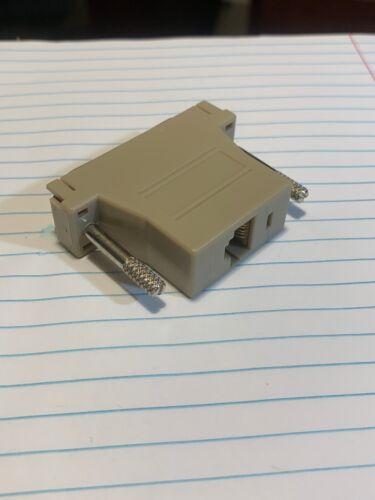 Aloha POS Epson Bixolon Printer Serial Port DB25 Male Pin to RJ45 Cat5 Female