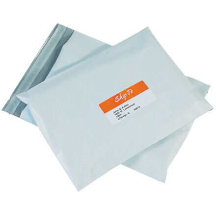 Packaging Supply protect product moisture White 2.5 Mil Polyethylene Poly Mailer