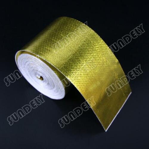 A NEW Reflect Gold Tape High Performance Reflective Heat Protection 1 Roll