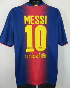 4b52c547e64 Image is loading Official-Rogers-Lionel-Messi-Barcelona-Football-Shirt -Camisa-