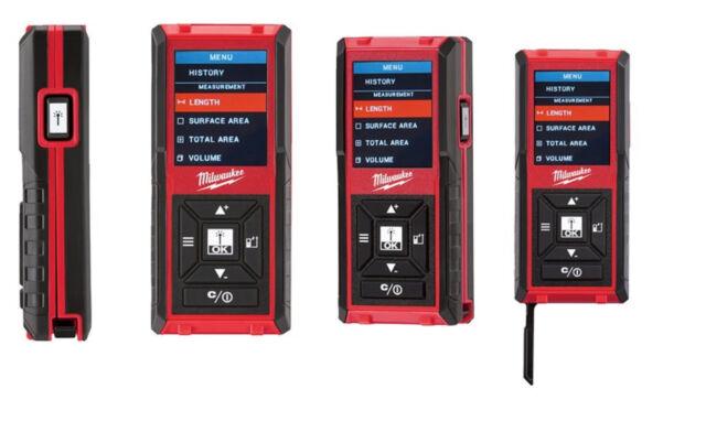 Laser Entfernungsmesser Günstig : Milwaukee laser entfernungsmesser ldm 45 farbdisplay bis 45m günstig