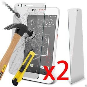 2x-HTC-Vitre-Protection-en-Verre-Trempe-Film-de-protecteur-d-039-ecran-Glass-Film