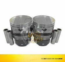 Piston Set Fits Ford Fiesta Ka 1.6 L Zetec-Rocam