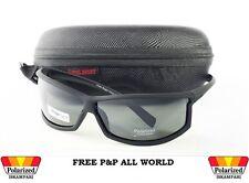 Para Hombre Gafas De Sol Polarizadas + Funda Rígida & Gafas Paño Sport, pesca, ciclismo