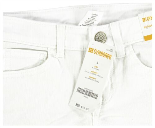 6 8 White Skinny Fit Cropped Kids Jeans Gymboree Girls Clothes Size 5 7