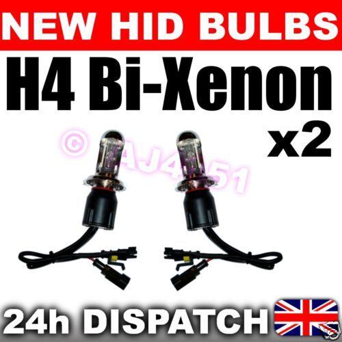 Dip 2x REPLACEMENT Bi-XENON HID Bulbs H4 4300k Main