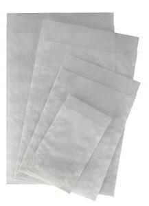 Pochettes cristal 115x160mm paquet de 500.