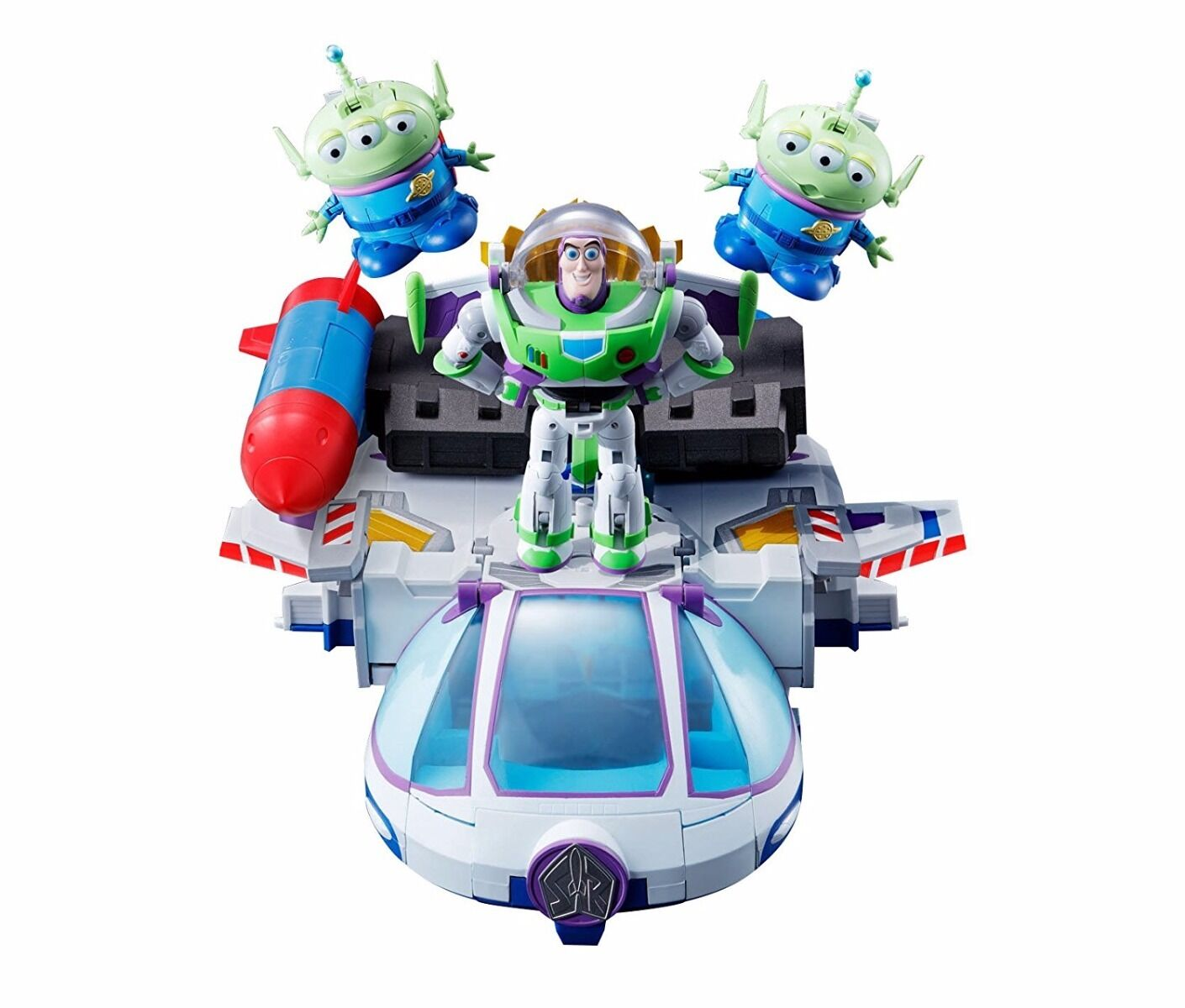 Chogokin Toy Story Chogattai BUZZ THE SPACE RANGER ROBO Action Figure BANDAI NEW