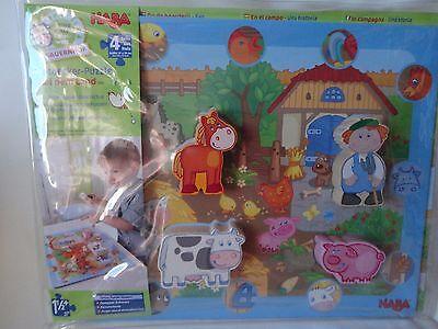 Auf Dem Land Ab 1 1/2 J. Haba Puzzle 5588 Entdecker-puzzle Spielzeug Plüschtiere & -figuren