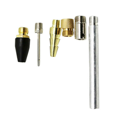 7pc Blow Gun Kit Air Compressor Nozzle Tip Needle Inflation Blower Air Up Tip