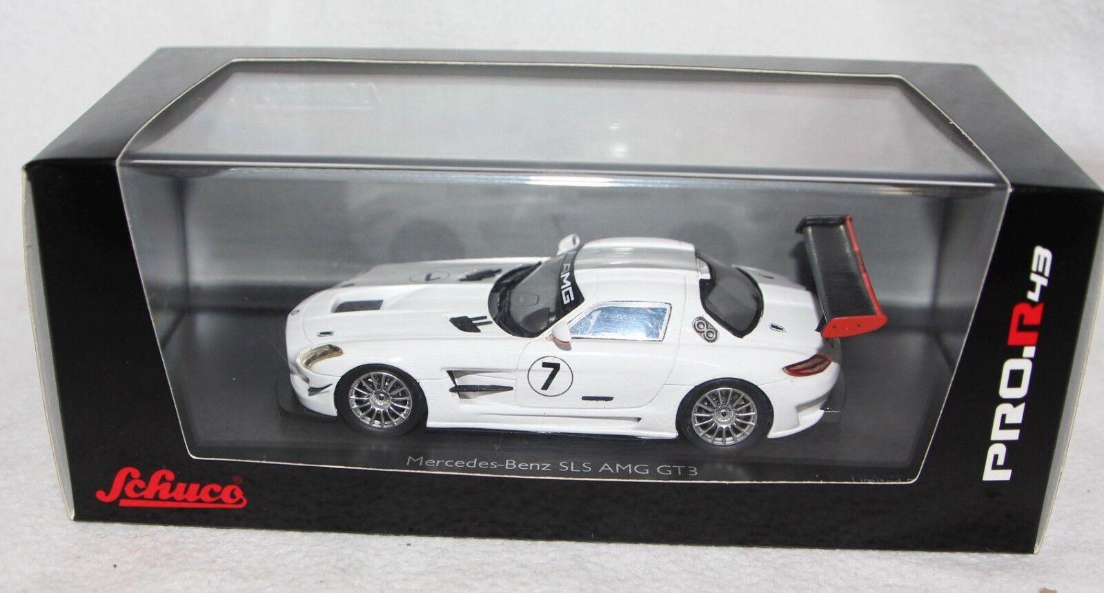 Schuco 1 43 pror 43 - 450881500-Mercedes Benz Sls amg gt3   7-NEUF dans neuf dans sa boîte