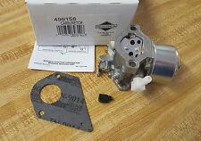 Briggs & Stratton Genuine Parts Carburetor 499158 499163 OEM Carb