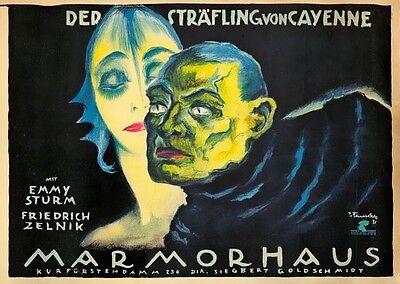 AZ41 Vintage Marmorhaus Theatre Show Advertisment Poster Re-Print A2//A3//A4