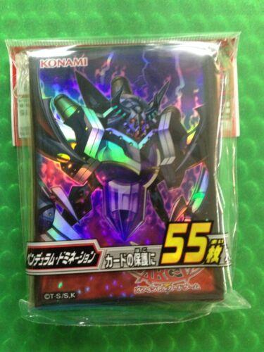 Konami Yu-Gi-Oh ARC-V Duelist Card Protector Pendulum Domination 55pcs