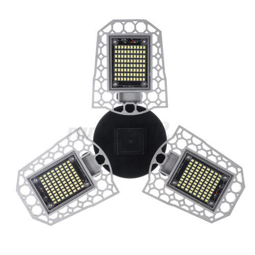 300W 30000LM 297 LED Garage Lights E26 Ceiling Lamps Sensor Deformable