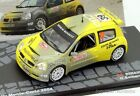1/43 RENAULT CLIO S1600 BERNARDI RALLY MONTECARLO 2004 IXO EAGLEMOSS DIECAST