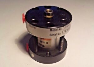 """Lin-Act ST-0.75x0.50-4R Pneumatic Cylinder 3/4"""" Bore 1/2"""" Stroke 10-32 Ports"""