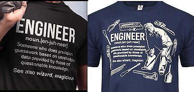 DeMina INGENIEUR Custom t-shirt Aufdruck lustig geburtstag neuheit