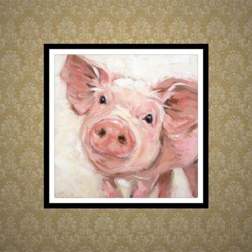 Pig DIY 5D Diamond Painting Embroidery Cross Stitch Kit Home Decor