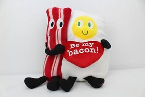 2016-Gemmy-Bacon-amp-Egg-Animated-Plush-Sings-Happy-Together-Be-My-Bacon