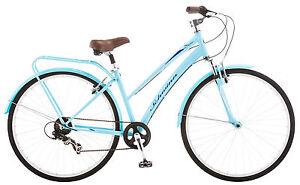 a6b6133d084 Schwinn 700C Women's Network 2 Hybrid Bike Bicycle - Light Blue ...