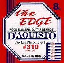 New D'Aquisto Ultra Lite Electric Strings  8-39 - #310
