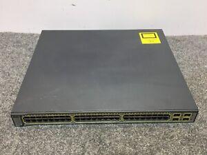 Cisco-WS-C3750G-48PS-S-48-Port-PoE-3750G-Gigabit-Switch
