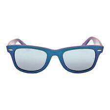 Ray Ban Original Wayfarer Cosmo Mercury Blue Plastic Frame Silver-Blue Lenses