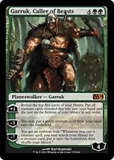 GARRUK, CALLER OF BEASTS M14 Magic 2014 MTG Green Planeswalker MYTHIC RARE