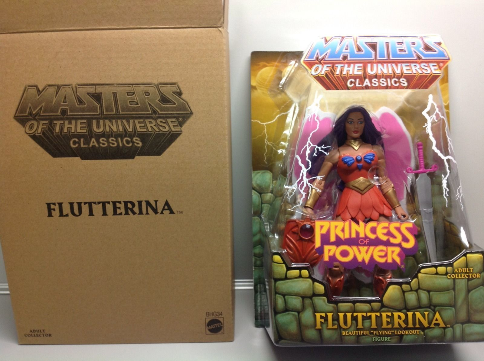 MIP FLUTTERINA Masters of the Universe Classics MOTUC figure Princess of Power