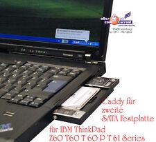 CADDY WECHSELRAHMEN f. ZWEITE HDD IBM THINKPAD T60 T61 Z60 Z61 45J7901 45J7902