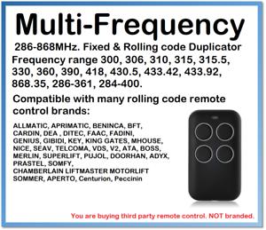 Raisonnable Multi-fréquence Fixe & Rolling Code Remote Control Duplicator 280-868 Mhz.-y Fixed & Rolling Code Remote Control Duplicator 280-868mhz. Fr-fr Afficher Le Titre D'origine Prix De Vente Directe D'Usine